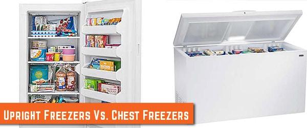 Upright Freezer Vs Chest