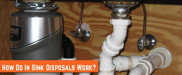 How do in-sink garbage disposals work?