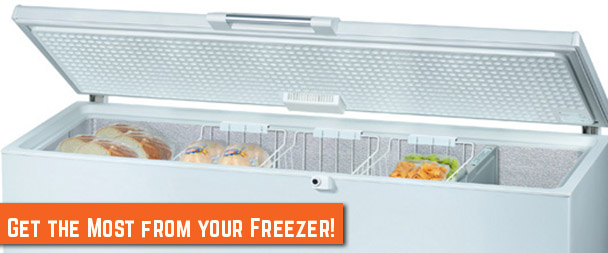 How to Get the Most from your Freezer!