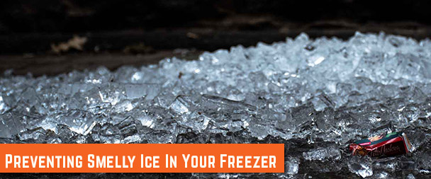 Smelly Ice – Preventing Smelly Ice from Your Freezer