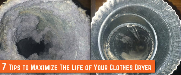 7 Tips to maximize the Life of Your Clothes Dryer