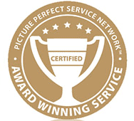 Award Winning Service Badge
