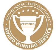 Award Winning Service Badge