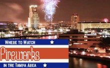 Where to watch Fireworks in Tampa