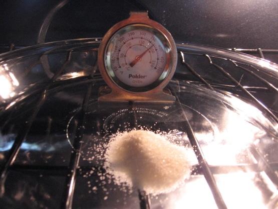 Testing Oven Temperature