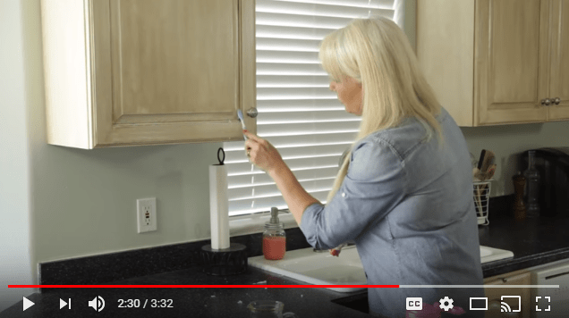 How to Remove Oven Grease from Kitchen Cupboards