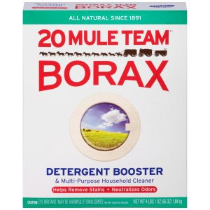 how to use borax for home appliances
