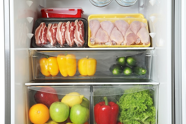 what food goes in crisper drawers