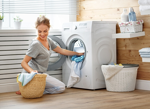 wash a rug in the washing machine